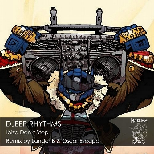 Djeep Rhythms - Ibiza Don't Stop [MR00013]