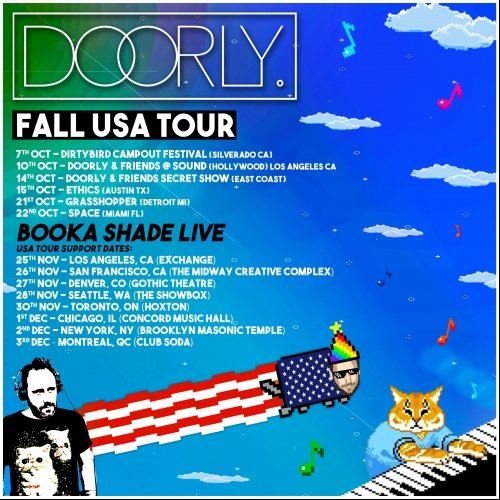 Doorly USA Fall Tour Chart