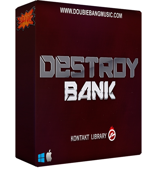 Double Bang Music Destroy Bank KONTAKT