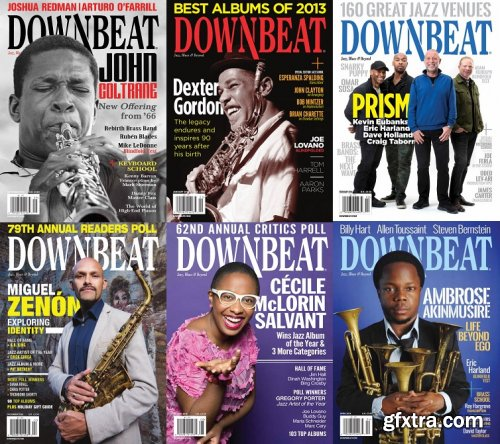 DownBeat 2014 Full Year Collection