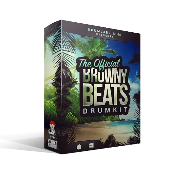 DrumLabz The Official Browny Beats Drum Kit WAV SOUNDFONT