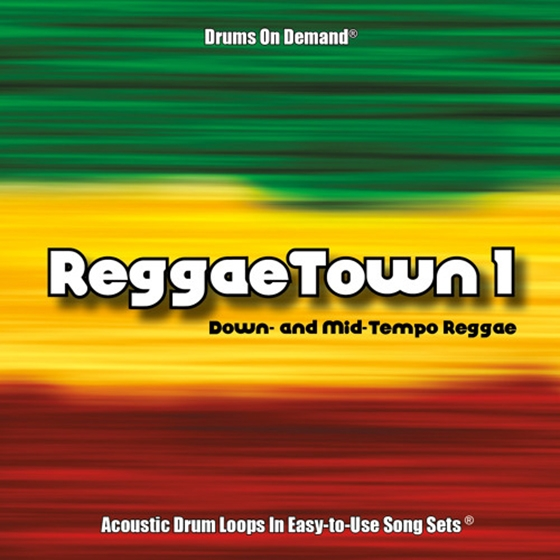 Drums on Demand Reggaetown Volume One 24bit WAV