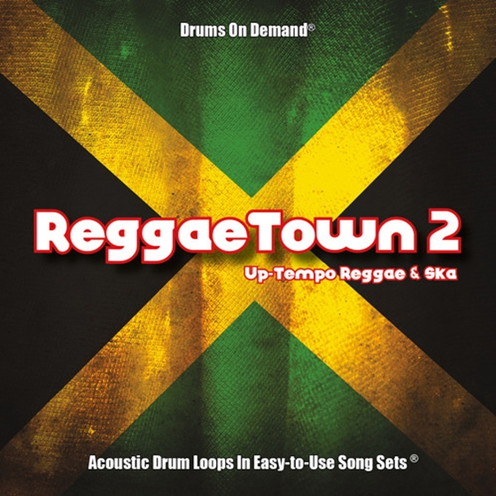 Drums on Demand Reggaetown Volume Two 24bit WAV