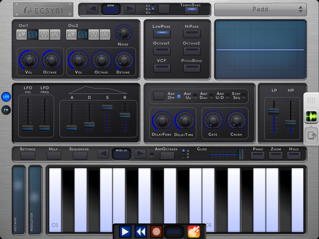 EGSY01 Analog Synth v2.3 iOS