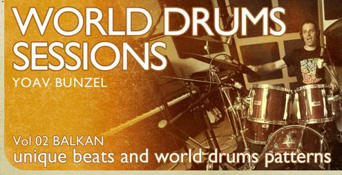 Earth Moments World Drum Sessions Vol.2 Balkan Drums