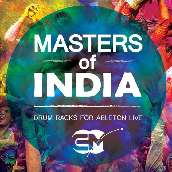 EarthMoments Masters Of India Drum Racks For Ableton Live