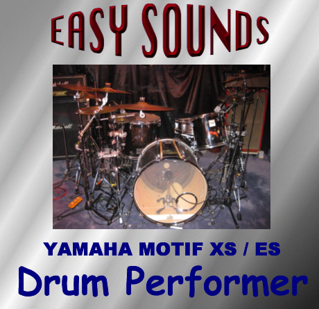 Easy Sounds Drum Performer Yamaha MOTIF XS X0A