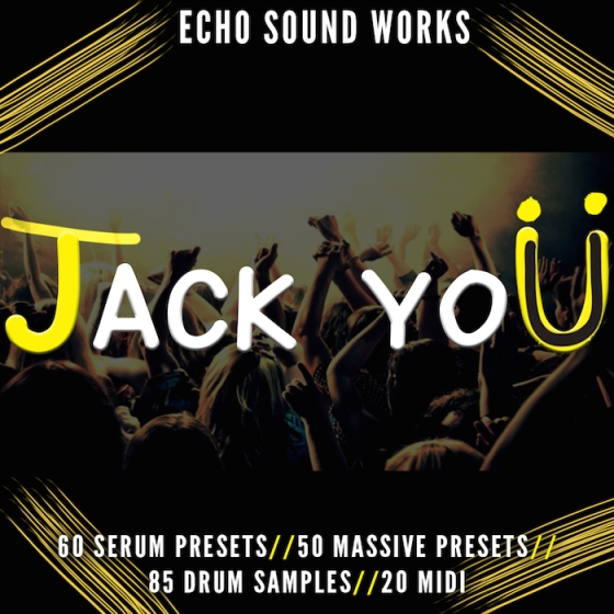 Echo Sound Works Jack You Vol 1 For NATiVE iNSTRUMENTS MASSiVE AND XFER RECORDS SERUM