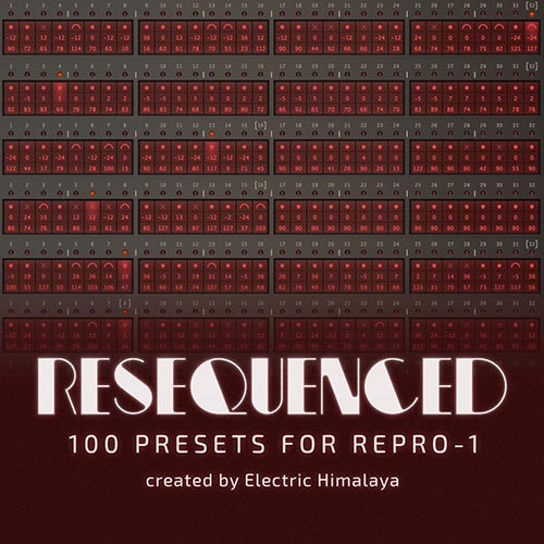 Electric Himalaya ReSequenced Soundset for u-he Repro-1 H2P