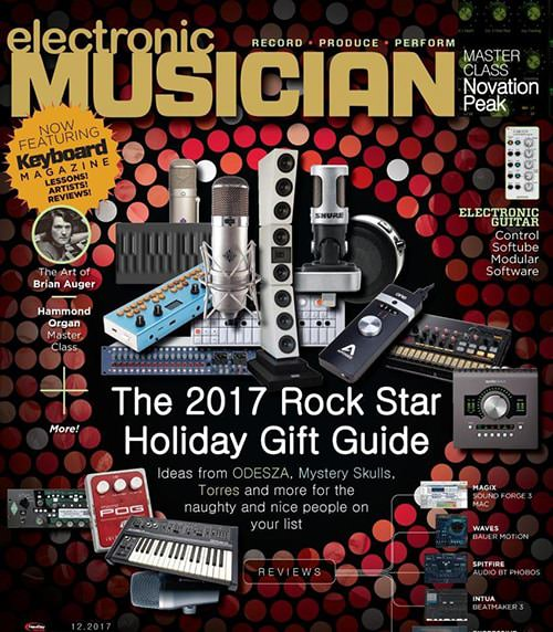 Electronic Musician – December 2017