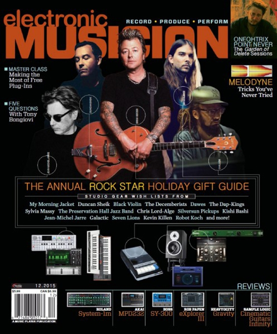 Electronic Musician December 2015