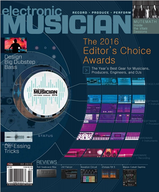 Electronic Musician February 2016