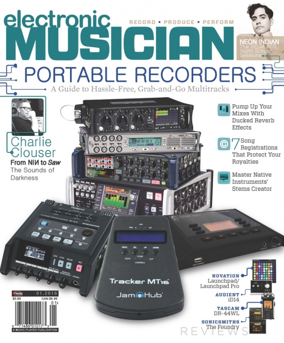 Electronic Musician January 2016