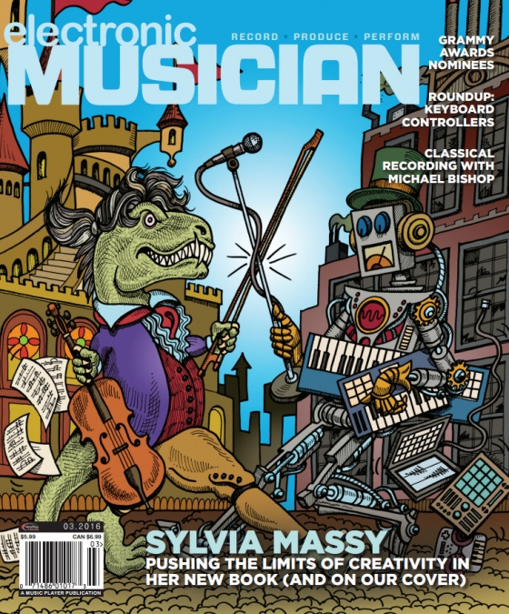 Electronic Musician March 2016