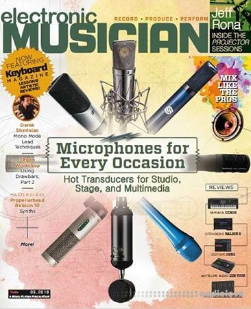 Electronic Musician March 2018 PDF