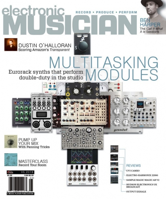 Electronic Musician May 2016