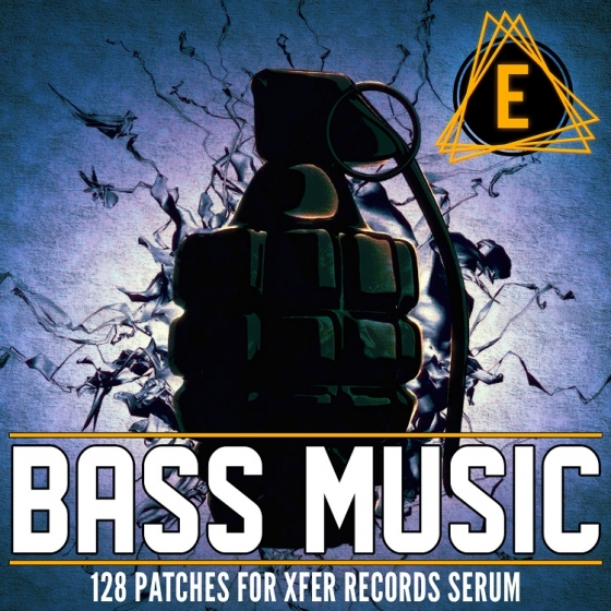Electronisounds Bass Music For XFER RECORDS SERUM FXP WAV