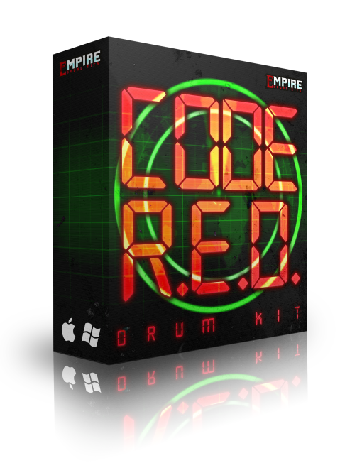 Empire Sound Kits CODE R.E.D. Drum Kit WAV