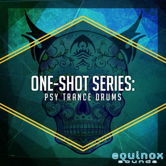 Equinox Sounds One-Shot Series Psy Trance Drums WAV