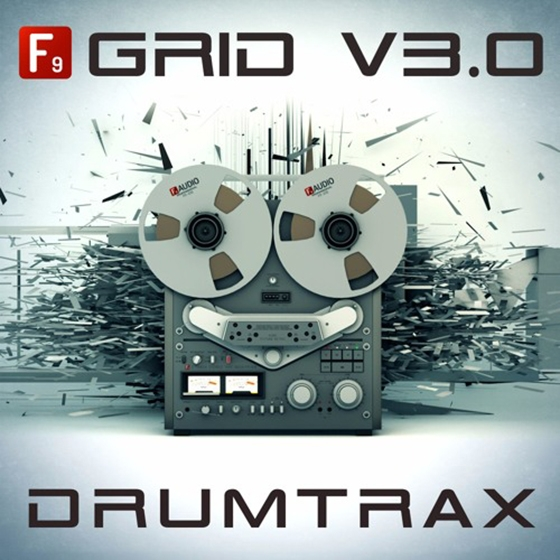 F9 Audio Grid V3.0 Future Retro Drumtrax Ableton Life