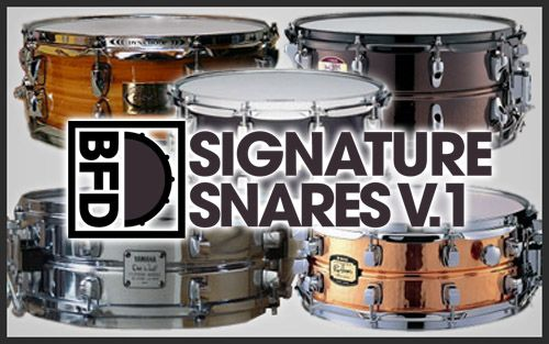 FXpansion BFD Signature Snares Vol.1 v1.0.0 WIN OSX MERRY XMAS-R2R