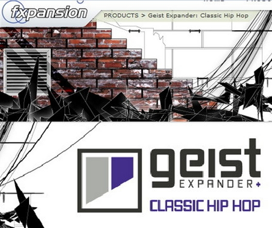 FXpansion Classic Hip Hop Expander for Geist