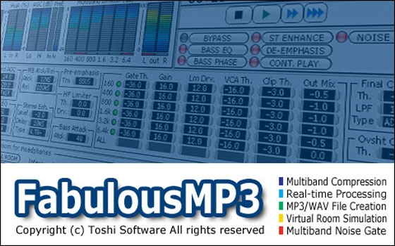 FabulousMP3 Multi-band Compression v.3.01 WiN