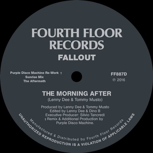 Fallout – The Morning After (Purple Disco Machine Rework) [FF887D]