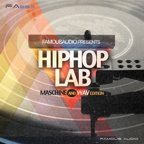 Famous Audio Hip Hop Lab WAV MiDi Ni Maschine-AUDIOSTRiKE
