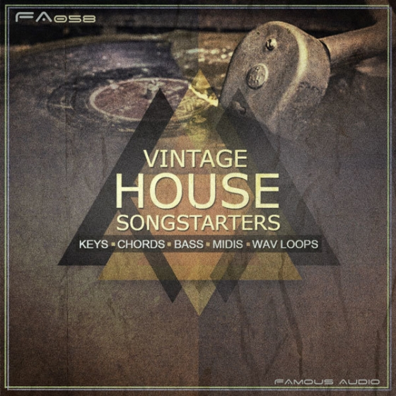 Famous Audio Vintage House Songstarters WAV MiDi-AUDIOSTRiKE