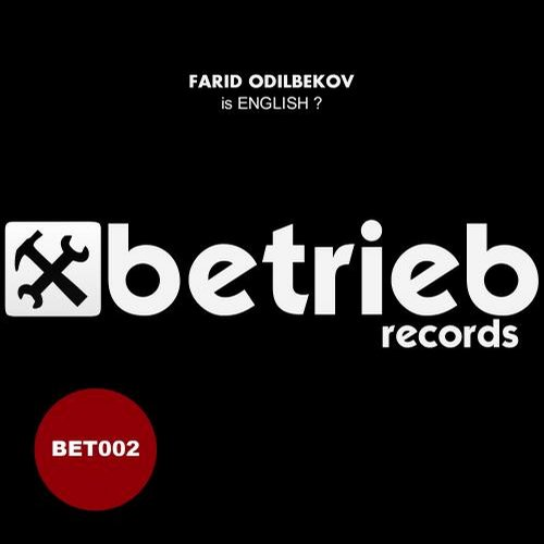 Farid Odilbekov - Is English ? [CAT26216]