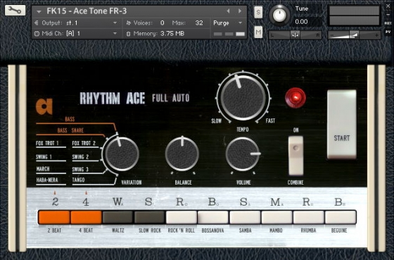 Forgotten Keys FK15 Bentley Rhythm Ace FR-3 V.4.2 KONTAKT