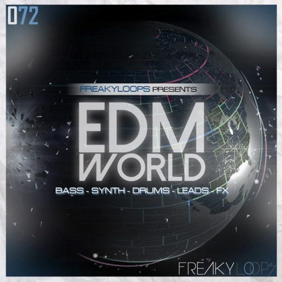 Freaky Loops EDM World WAV MiDi-AUDIOSTRiKE