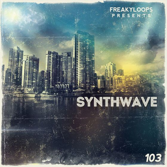 Freaky loops synthwave wav for 80s deep house