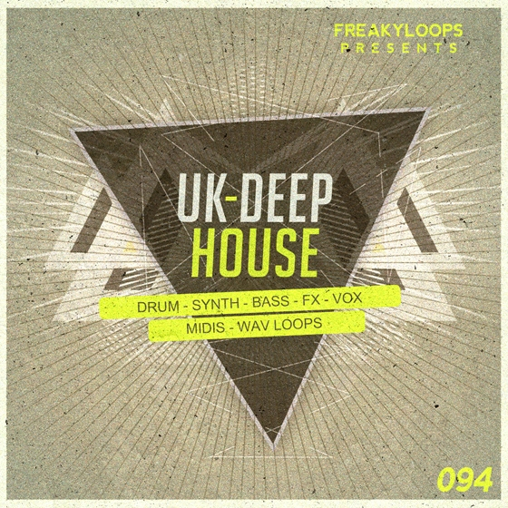 Freaky Loops UK Deep House WAV MiDi