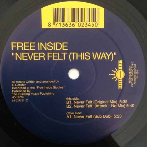 Free Inside - Never Felt This Way [BASIC 234]