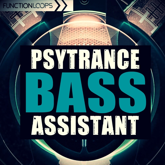 Function Loops PsyTrance Bass Assistant WAV