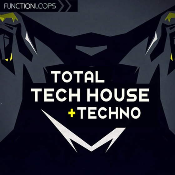 Function Loops Total Tech House And Techno WAV MiDi
