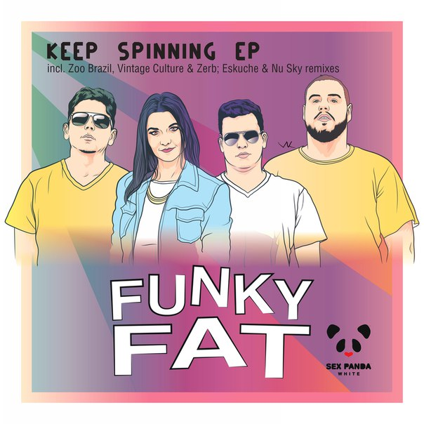 Funky Fat - Keep Spinning EP