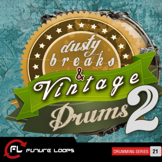 Future Loops Dusty Breaks and Vintage Drums 2 WAV REX