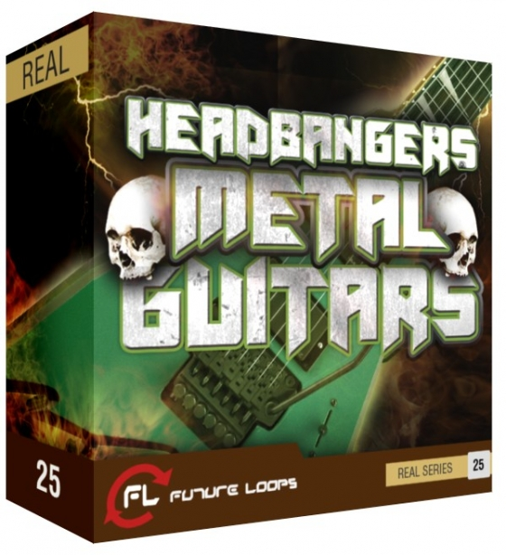 Future Loops Headbangers Metal Guitars WAV