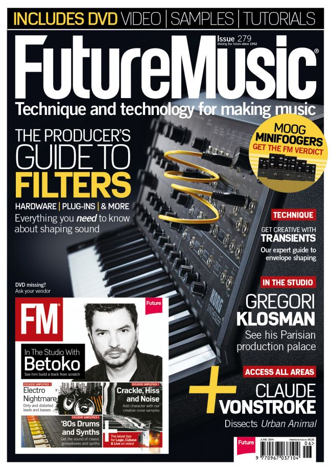 Future Music Crackle, Hiss and Noise WAV
