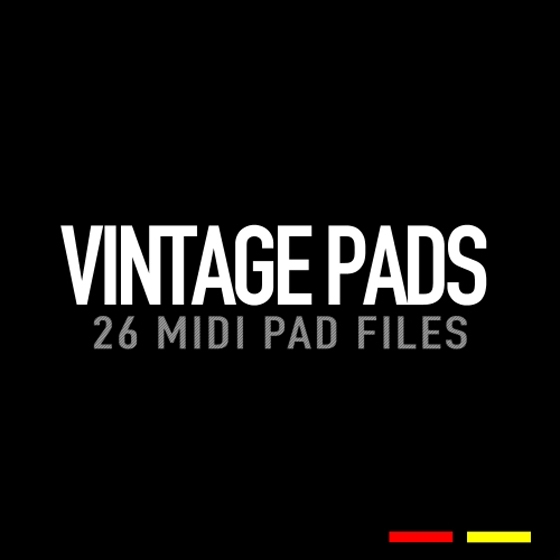 GR8 Audio Samples MIDI Vintage Pads MiDi