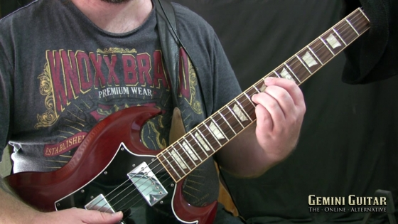Gemini Guitar: Cocteau Twins Style Major Seventh Heaven