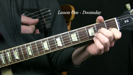 Gemini Video Guitar Lesson The Art of Gothic Guitar Volume On