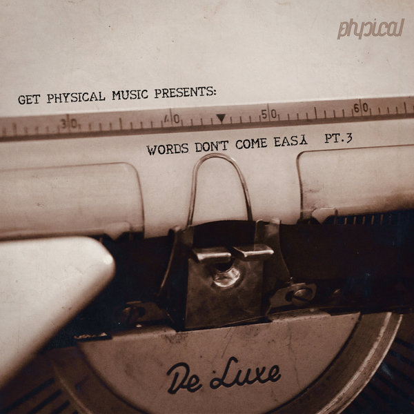VA - Get Physical Music Presents: Words Don't Come Easy, Pt. 3 [GPMCD127]