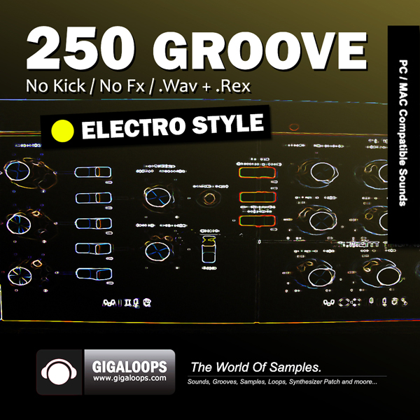 Giga Loops 250 Grooves Electro Music Style WAV REX-DISCOVER