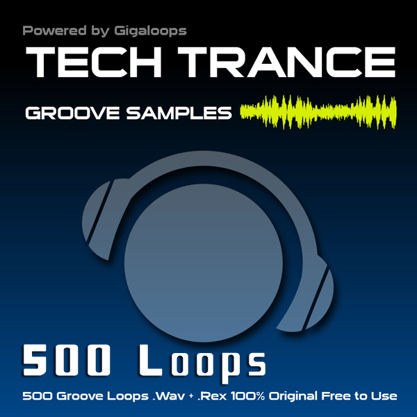 Giga Loops 500 Tech Trance Grooves WAV REX-DISCOVER