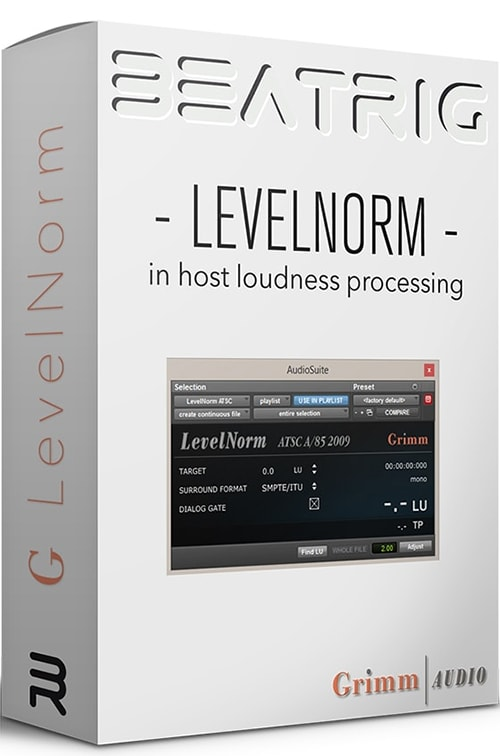 Grimm Audio BeatRig LevelNorm v1.5.0 RTAS AAX CE-V.R