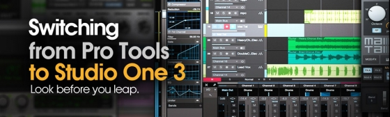 Groove3 Switching from Pro Tools to Studio One 3 TUTORiAL-SYNTHiC4TE